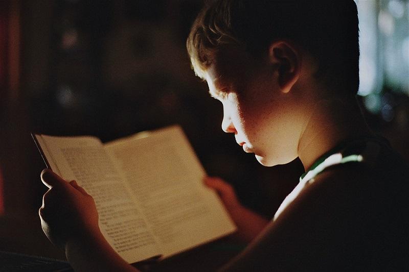 edukacine veikla vaikams vaikas skaito knyga