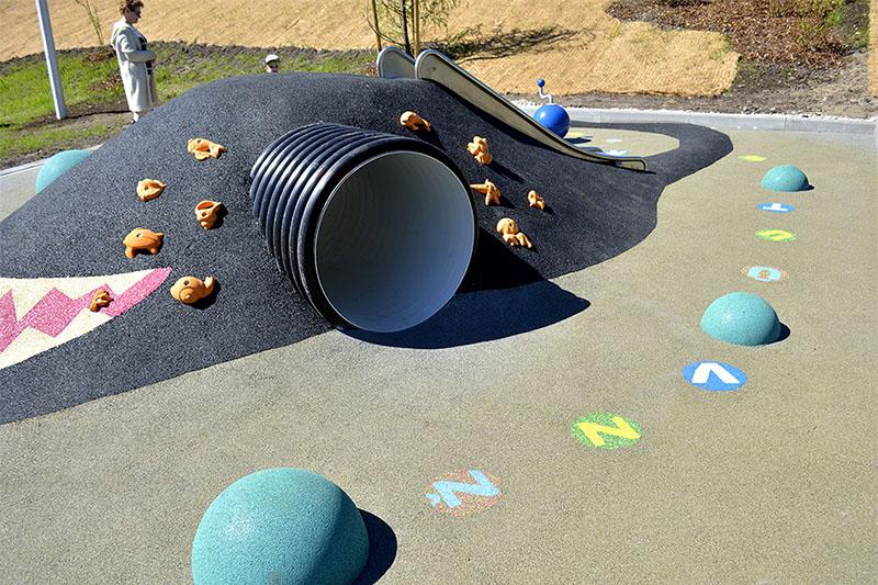 Vaikų žaidimų aikštelių dangos