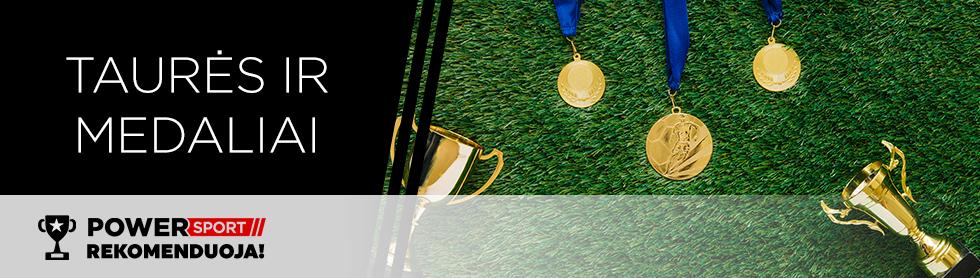 Taurės ir medaliai