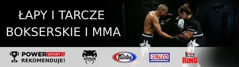 Łapy i tarcze bokserskie i MMA