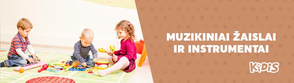 Muzikiniai žaislai ir instrumentai